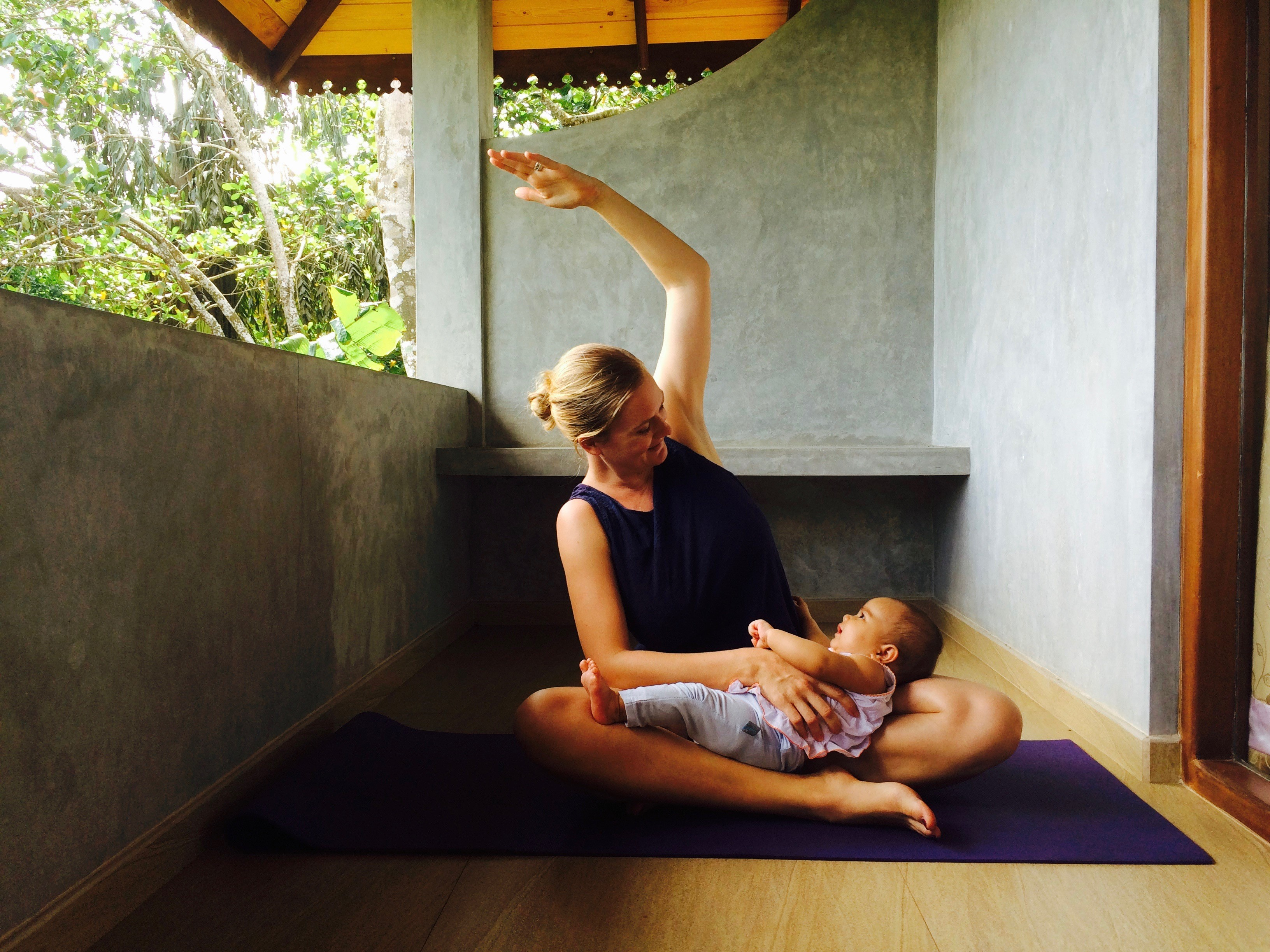 Mama-Kind-Yoga mit Linda ab Oktober