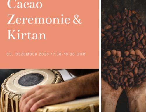 Cacao+Kirtan für ein entspanntes Herz am Samstag, 5. Dezember
